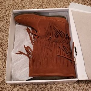 Womens Fringe Rampage Boots